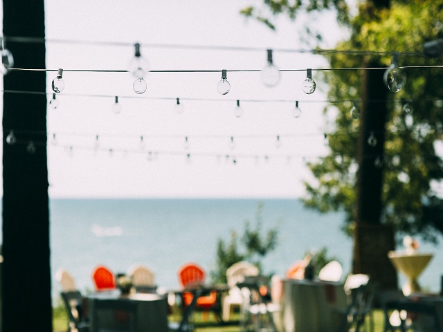 3 Wedding with Cafe Lights