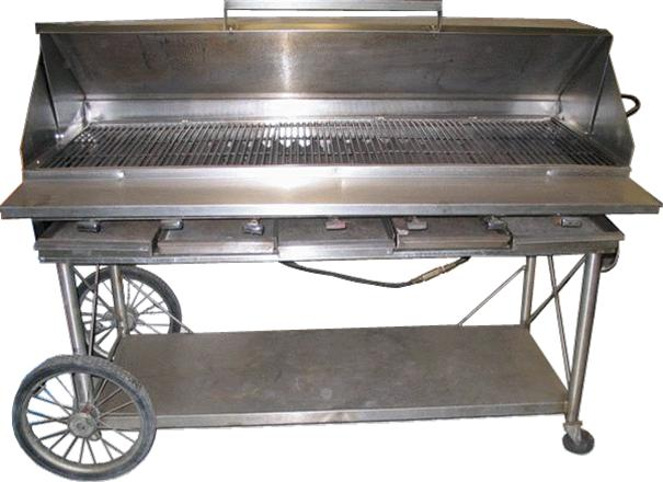 Where to find GRILL PROP W WHLS 60 x20 w TRAILER in Grand Haven