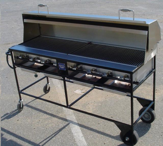 Where to find GRILL PROP W WHLS 60 x24 w TRAILER in Grand Haven