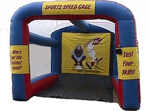 Where to find BASEBALL INFLATABLE SPEED PITCH in Grand Haven