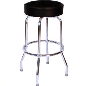 Where to find BAR STOOL CHROME W BLK 30 HIGH in Grand Haven
