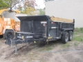 Rental store for TRAILER DUMP 3 YD TANDEM AXLE in Grand Haven MI