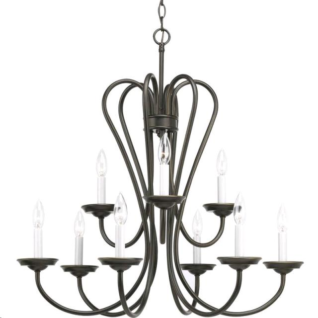 Where to find LT CHANDELIER 9X60W ANTIQUE BRONZE in Grand Haven