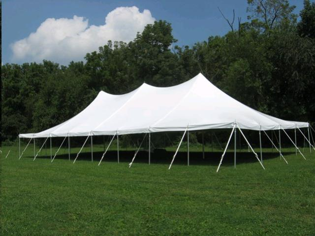 Where to find 40  WIDE ROPE   POLE TENT in Grand Haven