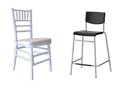 Chair Rentals in Grand Rapids MI, Muskegon, Grand Haven, Spring Lake, Holland, Ludington, Fremont Michigan
