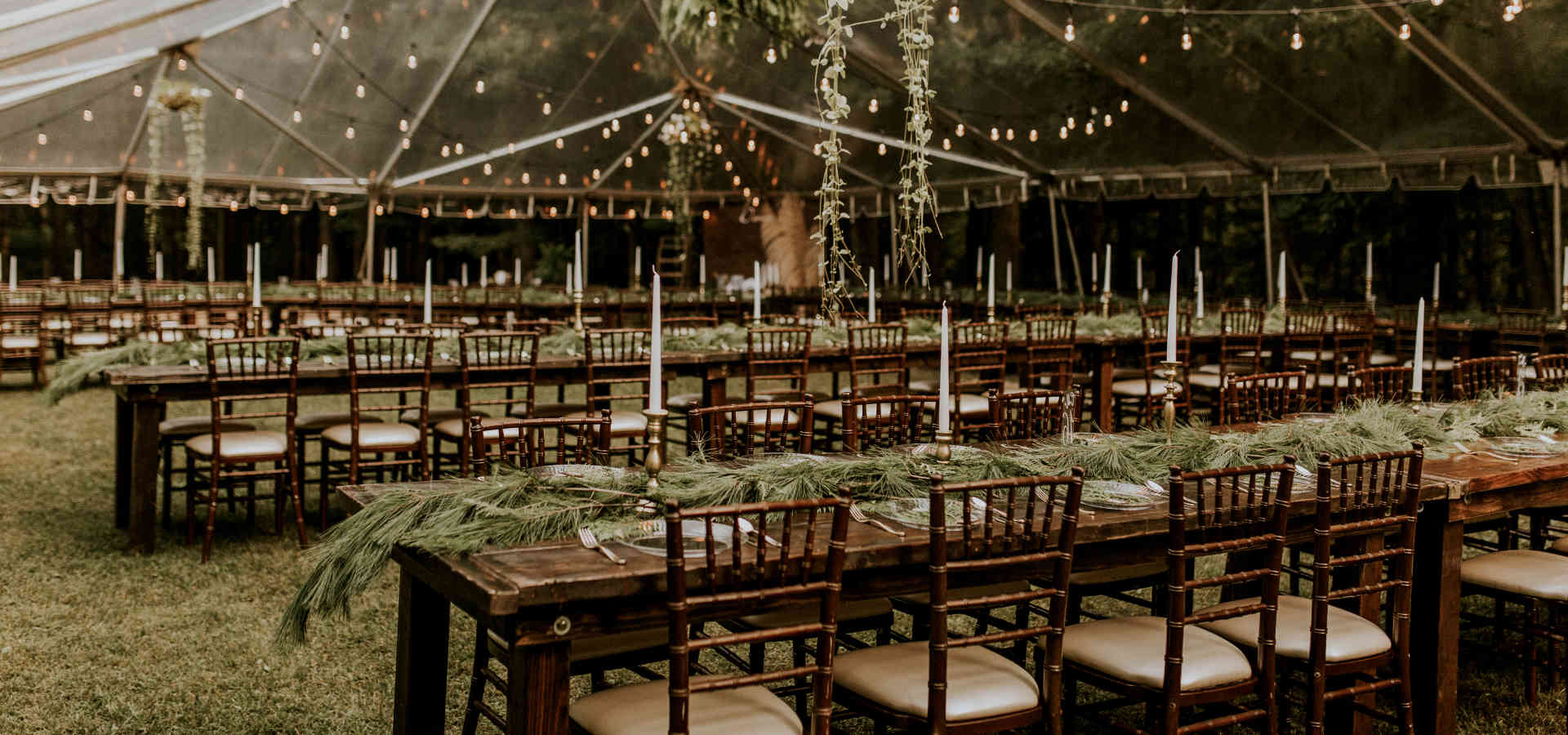 Tent rentals in West Michigan